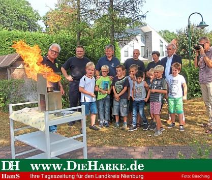 """Brandschutz Uchte©""""Die Harke"""" - Annika Büschking"""