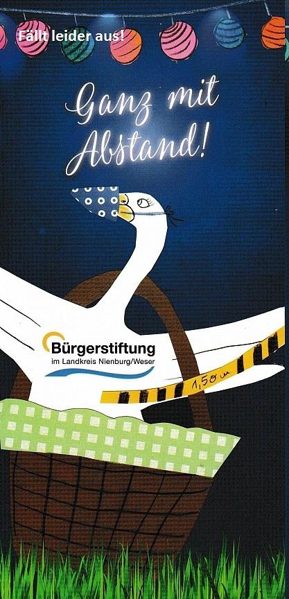Bürgermahl entfällt©Bürgerstiftung im Landkreis Nienburg