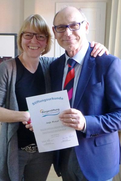Erfolgreiches Jahr der Bürgerstiftung im Landkreis Nienburg