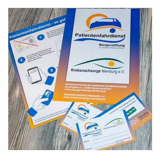 Flyer Patientenfahrdienst