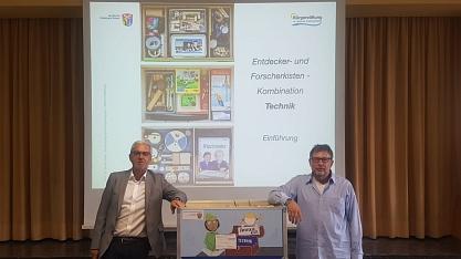 Frank Lehmeier (lks.) und Prof. Dr. Breè