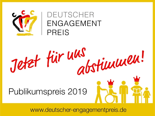 Logo Dtsch. Engagementpreis©Bürgerstiftung im Landkreis Nienburg
