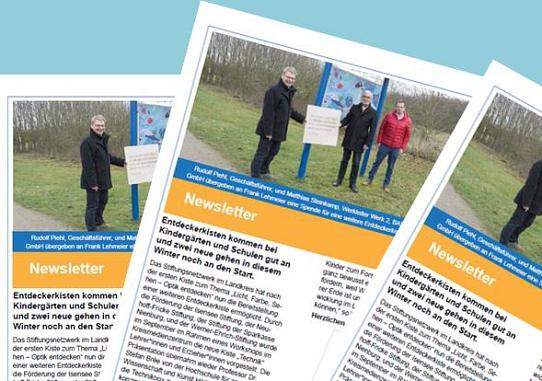 Newsletter Dezember 2020©Bürgerstiftung im Landkreis Nienburg