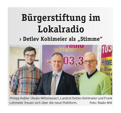 Radio Mittelweser - Lehmeier Kohlmeier Kessler©Radio Mittelweser