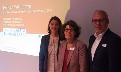 """Erfolgreiche Teilnahme am Regionalforum der Stiftung """"Aktive Bürgerschaft"""" in Hamburg"""