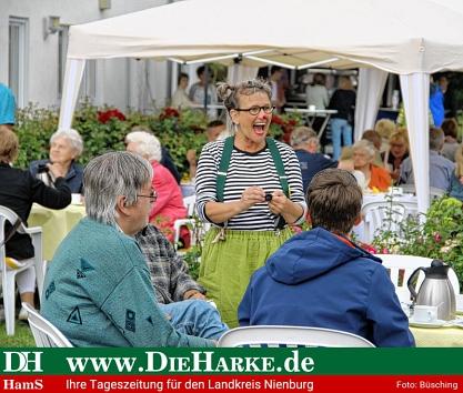 Rollstuhlschaukel Stolzenau©Bürgerstiftung im Landkreis Nienburg