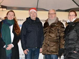 Spendenübergabe Winterwald