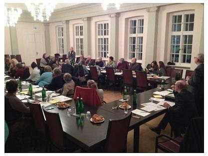 Treffen der Organisationen im Ratssaal©Bürgerstiftung im Landkreis Nienburg