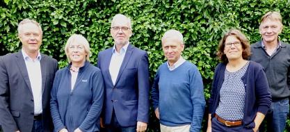 Vorstand Bürgerstiftung Juli 2019©Bürgerstiftung im Landkreis Nienburg