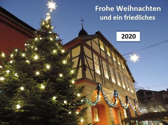 Weihnachtsgruß 2020©Bürgerstiftung im Landkreis Nienburg